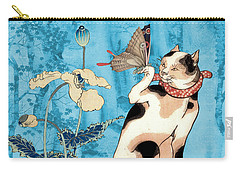 Butterfly Charmer Carry-all Pouch