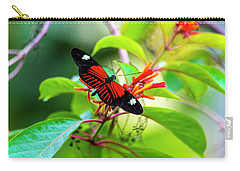 Carry-all Pouch featuring the photograph Butterfly  by David Morefield