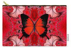 Butterfly Dream Phone Case Carry-all Pouch by Lea Wiggins
