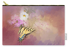 Butterfly Dreams Carry-all Pouch by Theresa Tahara