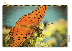Butterfly Enjoying The Nectar Carry-all Pouch