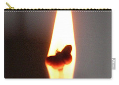 Butterfly Flame Close Up Carry-all Pouch