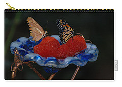Carry-all Pouch featuring the photograph Butterfly Fruit by Richard Bryce and Family