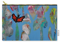 Butterfly Glads Carry-all Pouch