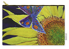 Butterfly Haven Carry-all Pouch by David Joyner