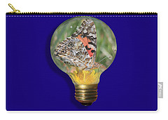 Butterfly In A Bulb II Carry-all Pouch