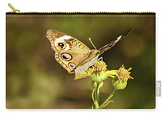 Butterfly In Bokeh Carry-all Pouch