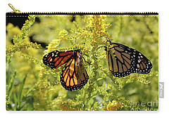 Butterfly In Fall  Carry-all Pouch