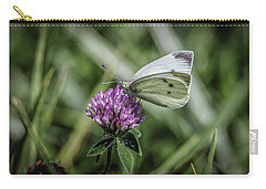 Butterfly In Love Carry-all Pouch