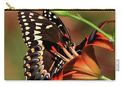 Butterfly Kiss 2 Carry-all Pouch