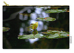 Butterfly Lily Pad Carry-all Pouch