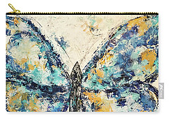 Butterfly Love Carry-all Pouch by Kirsten Reed