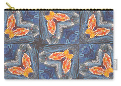 Butterfly Love Carry-all Pouch by Maria Watt