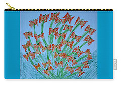 Butterfly Motion Carry-all Pouch