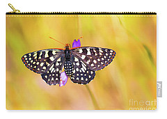 Butterfly On A Lupine Carry-all Pouch