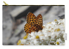 Butterfly On Table Mountain Carry-all Pouch