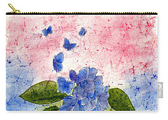 Butterflies Or Hydrangea Flower, You Decide Carry-all Pouch