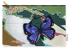 Butterfly Over Great Lakes Carry-all Pouch
