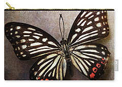 Butterfly Over Textured Background Carry-all Pouch