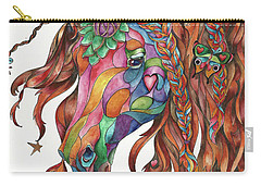 Butterfly Pony Carry-all Pouch
