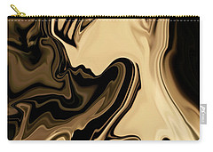 Carry-all Pouch featuring the digital art Butterfly Princess by Rabi Khan