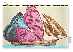 Butterfly Ship Carry-all Pouch by Eric Fan