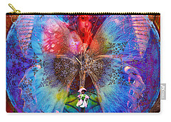 Butterfly Sisterly City Love Carry-all Pouch