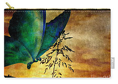 Butterfly Sunrise Carry-all Pouch by Maria Urso
