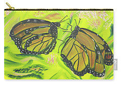 Butterfly Tango Carry-all Pouch