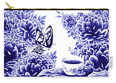 Butterfly Teatime Carry-all Pouch
