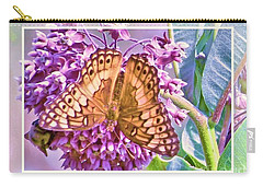 Butterfly Why Carry-all Pouch