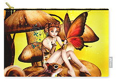 Butterfly Wing Envy Carry-all Pouch