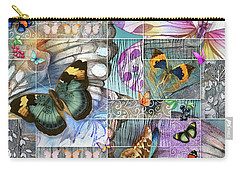 Butterfly Wings Collage Carry-all Pouch