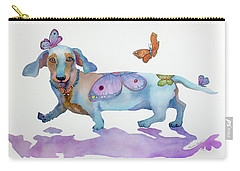 Butterfly Doxie Doo Carry-all Pouch