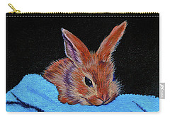 Butterscotch Bunny Carry-all Pouch