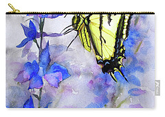 Butteryfly Delight Carry-all Pouch by Bonnie Rinier
