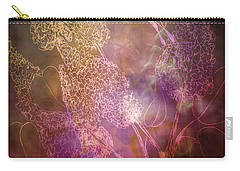 Buttetfly Blossoms Carry-all Pouch by Maria Urso
