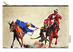 Buzkashi, A Power Game Carry-all Pouch