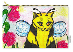 Buzz Bumble Bee Fairy Cat Carry-all Pouch