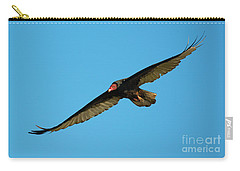 Buzzard Circling Carry-all Pouch by Mike Dawson