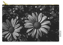 Bw Daisies Carry-all Pouch