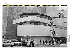 Bw Guggenheim Museum Nyc  Carry-all Pouch