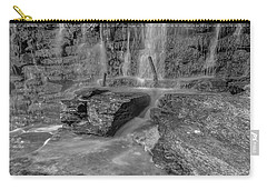 Bw Rock Wall Waterfall Carry-all Pouch