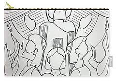 By Faith Carry-all Pouch by Loretta Nash