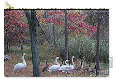 By The Lake Carry-all Pouch by Dora Sofia Caputo Photographic Art and Design
