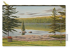 By The Lakeside Carry-all Pouch