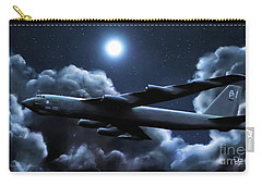 Carry-all Pouch featuring the painting By The Light Of The Silvery Moon by Dave Luebbert