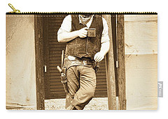 By The Saloon Carry-all Pouch