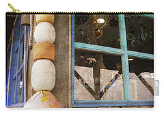 Carry-all Pouch featuring the photograph By The Sea by Fran Riley