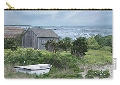 Carry-all Pouch featuring the photograph By The Sea by Robin-Lee Vieira